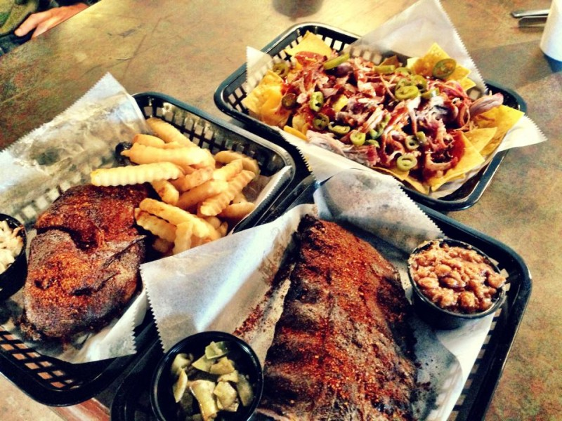 Facebook Website Twitter Photo Peg Leg Fb Porker Is A Fun Bbq Place With Inventive Treats Like Fried Ribs And Pie
