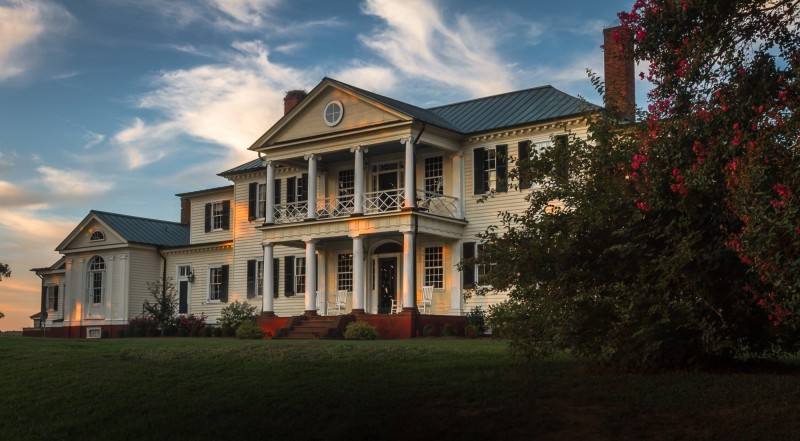 Belle Grove at Sunset
